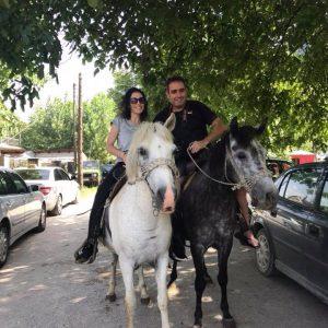 רכיבת סוסים Horse riding