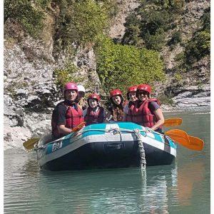 רפטינג בנהר זגוריה