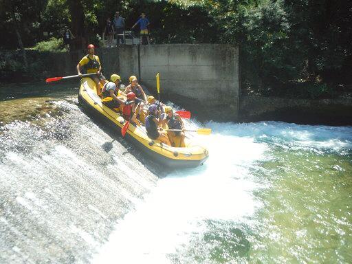 ראפטינג בנהר וידאומטיס