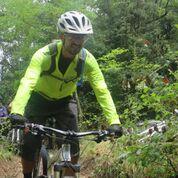 רוכב אופני הרים מקצועי צפון יוון