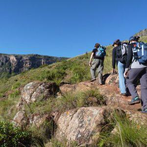 טיול רגלי Hiking