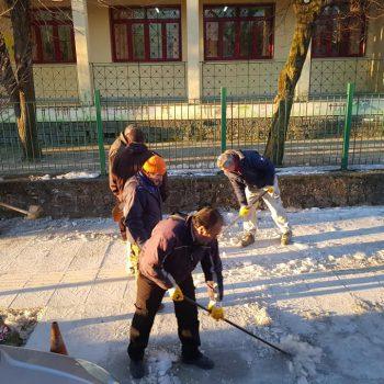 שלג ביואנינה העיר הגדולה של מחוז