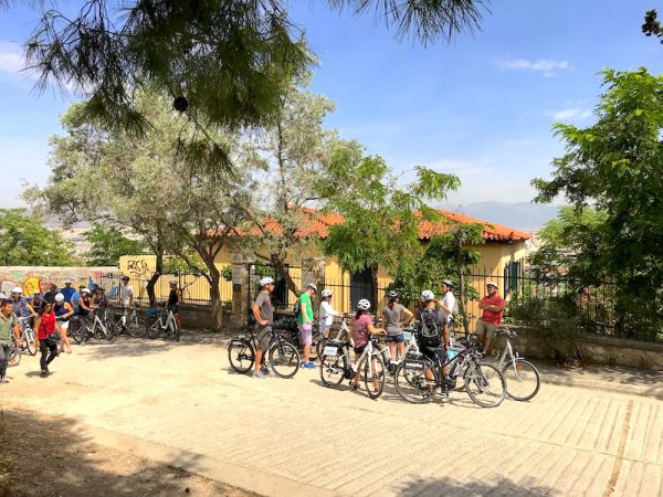 אופניים חשמליים באתונה