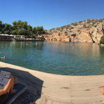 אגם ווליאגמני צפון יוון