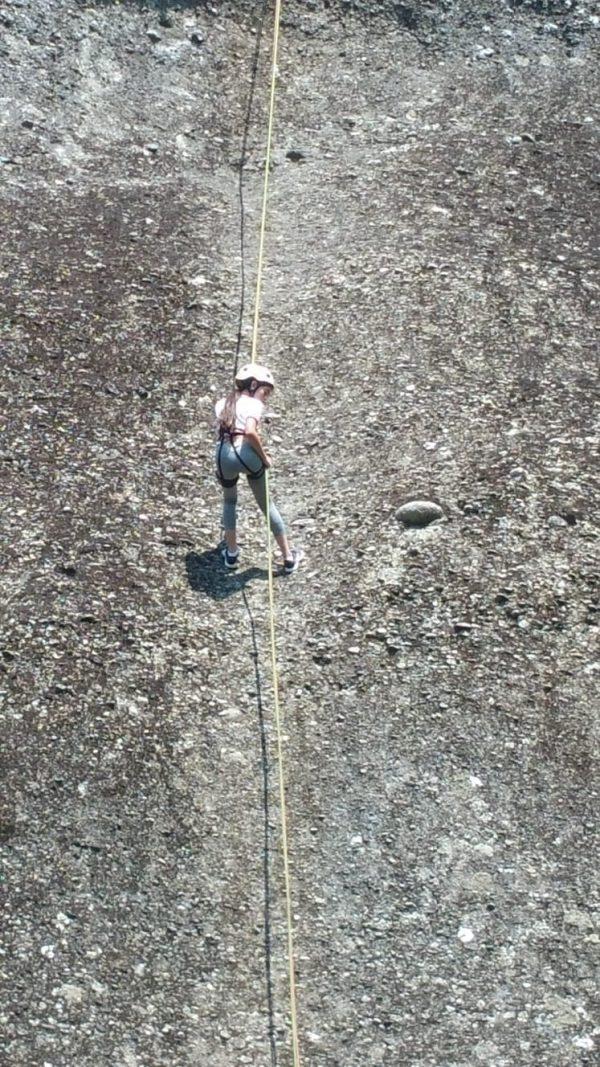 טיפוס סלע עם חבלים 1