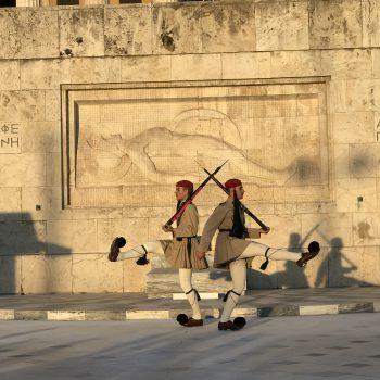 חיילים במשמר באתונה