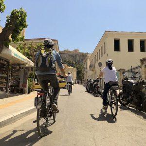 אתונה רכיבה אופניים חשמליים אורבנית ילדים מגיל 12 ומעלה
